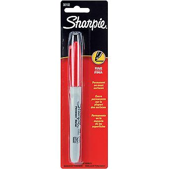 Sharpie Fine punt permanente Markers 1 Pkg Red 30102