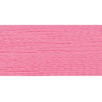 Rayonne Super force fil solide couleurs 1100 verges Carnation 300 s 2237