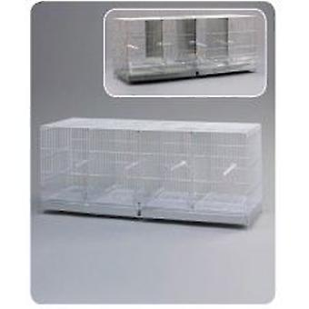 Mgz Alamber Cria cage Metro Silver (Oiseaux , Cages , Petits oiseaux)