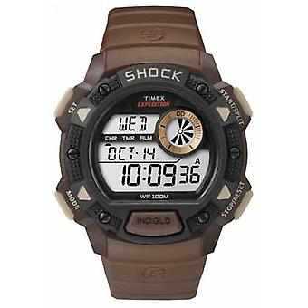 Timex Expedition Base Schock braun TW4B07500 Herrenuhr