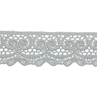 Bow Edge Venice Lace Trim 1