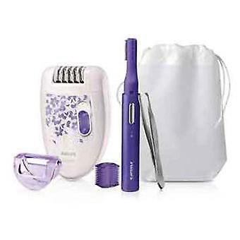 Philips Satinelle, Accessory Asy Start, Purple Liner, tweezers, Bag