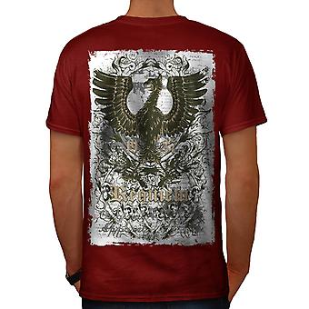 Originele Requiem vs Monster mannen rode T-shirt Back | Wellcoda