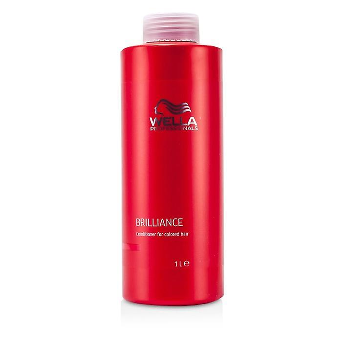 Wella Brilliance Conditioner (For Colored Hair) 1000ml/33.8oz