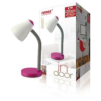 Ranex LED Table Lamp Pink
