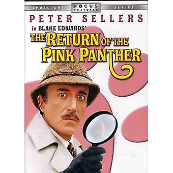Peter Sellers - Return of the Pink Panther [DVD] USA import