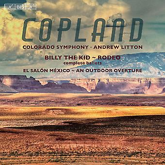 Copland / Colorado symfoni / Litton - udendørs ouverture - Billy the Kid - El Salon [SACD] USA import