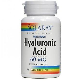 Solaray Hyaluronic Acid 60 mg 30 Capsules (Vitamins & supplements , Special supplements)