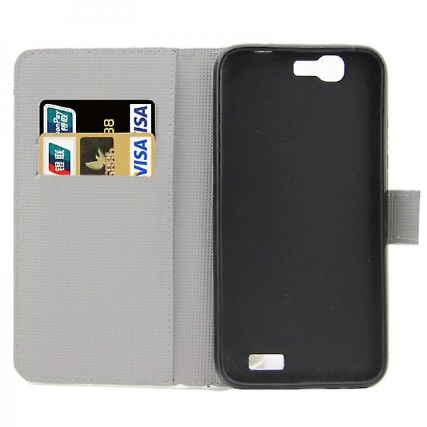Pocket wallet premium pattern 1 for Huawei Ascend G7