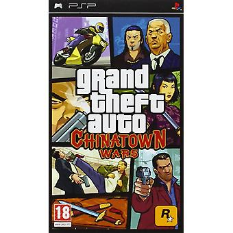 Grand Theft Auto Chinatown Wars Sony PSP Spiel
