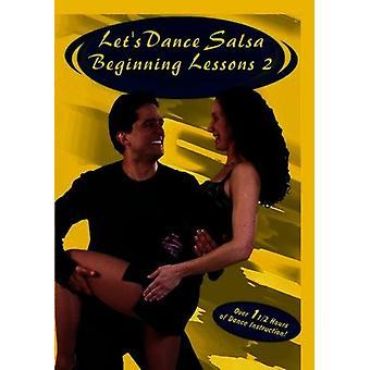 Salsa-begyndelsen lektioner 2 [DVD] USA importerer