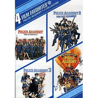 Politiskolen 1-4 [DVD] USA importere