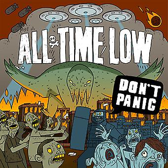 All Time Low - Don't Panic [CD] USA import