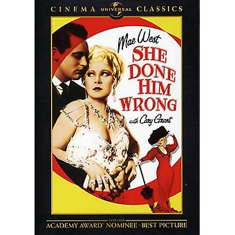 She Done Him Wrong [DVD] USA import