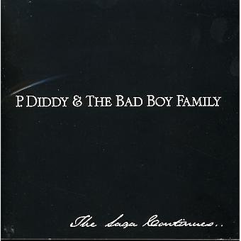 P. Diddy - P. Diddy & Bad Boy familie - [CD] USA importen