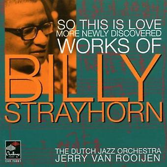Dutch Jazz Orchestra - So This Is Love-More Newly Discovered Works of Bil [CD] USA import