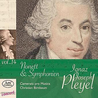 Pleyel - Pleyel: Importación Nonett & USA Symphonien Vol. 14 [CD]