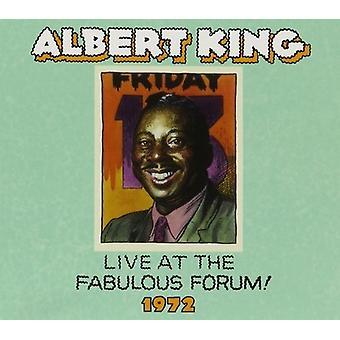 Albert King - Live fabelagtig Forum 1972 [CD] USA import