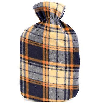 Enfants qualité Check doux molleton à motifs couverts bouillotte en caoutchouc naturel