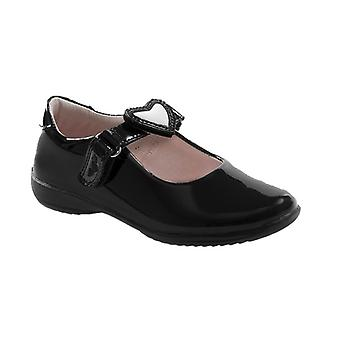 Lelli Kelly Colourissima Changeable Strap Black Patent School Shoes