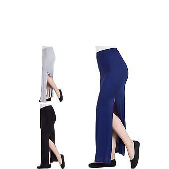 Agiato kvinder Side spalteformede Maxi nederdel 3-Pack