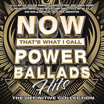 Various Artist - Now That's What I Call Power Ballads [CD] USA import