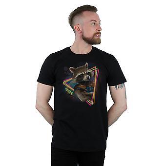 Marvel mannen hoeders van de Galaxy-Neon raket T-Shirt