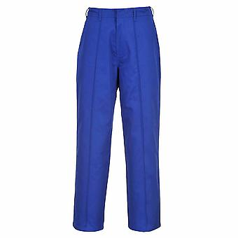 sUw - Mens Smart Workwear Wakefield Uniform Trousers Sewn In Front crease