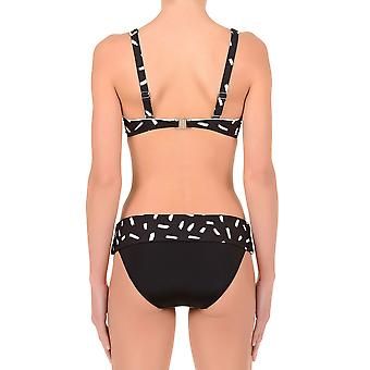 David DA7-090 Women's Karolina Black Underwired Swimwear Bikini Set