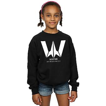 DC Comics flickor Justice League filmen Wayne Aerospace Sweatshirt