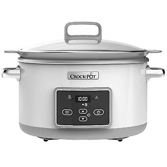 CROCK POT Slow Cooker 5 l Ceramic Timer
