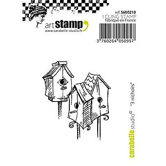 Carabelle Studio Cling Stamp Small 2.17