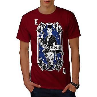 King And Queen Men RedT-shirt | Wellcoda