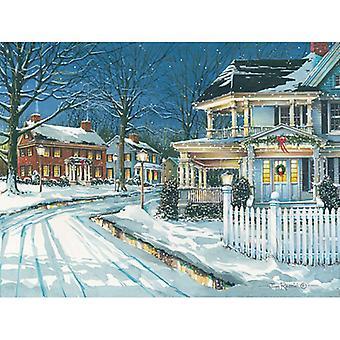 Seasonal Lights Poster Print by John Rossini (24 x 18)