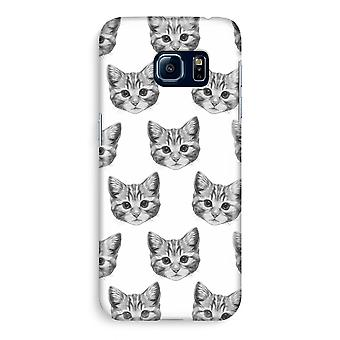 Samsung S6 Edge Full Print Case - Kitten