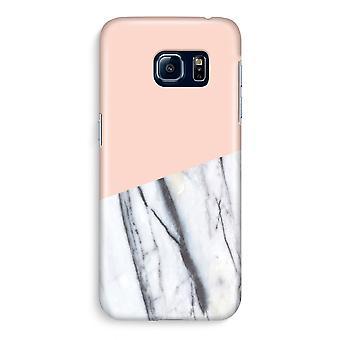 Samsung S6 Edge Full ut fallet - en touch av persika