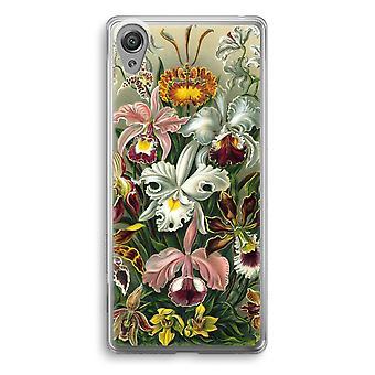 Sony Xperia XA1 Transparent Case - Haeckel Orchidae