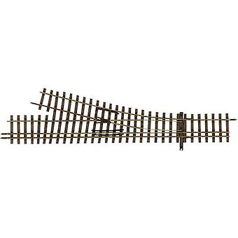 H0m Tillig Narrow Gauge 85193 3-rail point, Right 128 mm