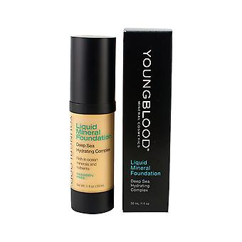 Youngblood væske Mineral Foundation - Shell 30ml / 1oz