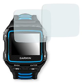 Garmin Forerunner 920XT screen protector - Golebo Semimatt protector (deliberately smaller than the display, as this is arched)