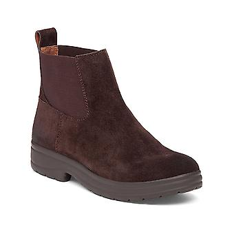 Lucky Brand Womens Gabbee Leather Closed Toe Ankle Chelsea Boots