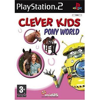 Kloge børn Pony verden (PS2)