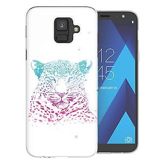 Samsung A6 (2018) Leopard Splash TPU Gel geval