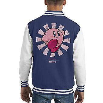 Kirby Retro japońskich Kid uniwerek kurtka