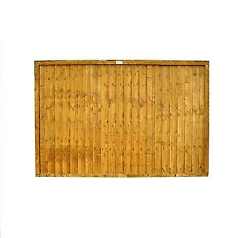 Forest Garden 4ft Closeboard Fence Panel