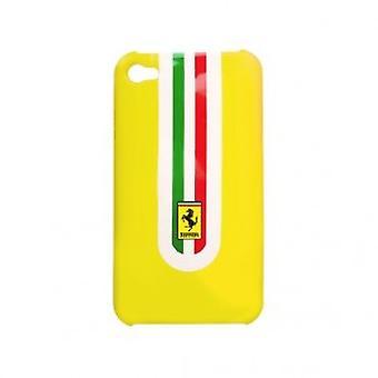 Ferrari Hard Cover Hülle in Gelb mit Ferrari Logo iPhone 4/4S