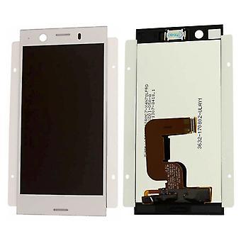 Sony Display LCD Komplett Einheit für Xperia XZ1 Dual G8342 Silber Ersatzteil Neu