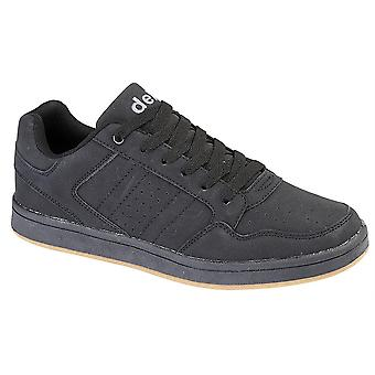 Boys Synthetic Nubuck Lace Up Skate Casual Smart Trainers Shoes