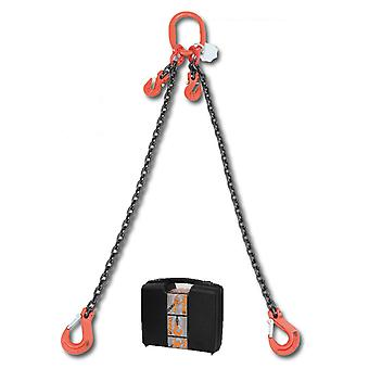 8097/2 C7A Beta Chain Sling 2 Legs And Grab Hook In Plastic Case 7mm 2 Mt