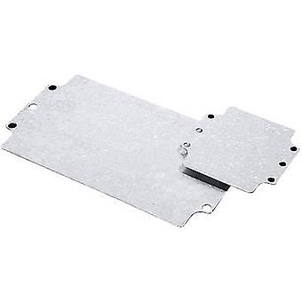 Placa de montaje (L x W) 107 x 207 mm placa de acero PC de Rittal GA 9110700 1